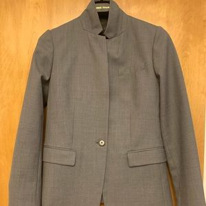 J. Crew Super 120s Gray Wool Suit